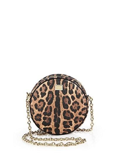 Leopard-Print Shoulder Bag