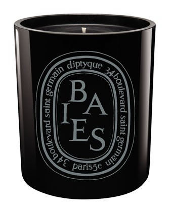 Black Baies Scented Candle - Diptyque