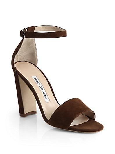 Lauratop Suede Sandals