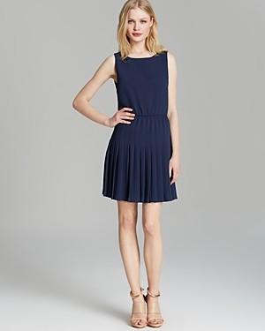Alice + Olivia Dress - Shanna Fit and Flare Pleated