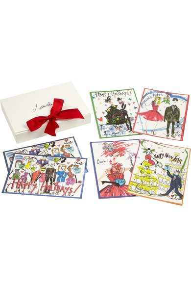 Happy Holidays set of 10 notecards