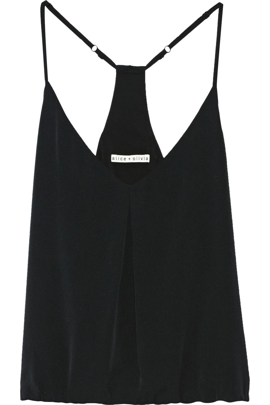 Noa stretch-silk crepe camisole