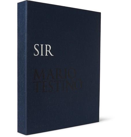 Mario Testino SIR Collector's Edition Hardcover Book