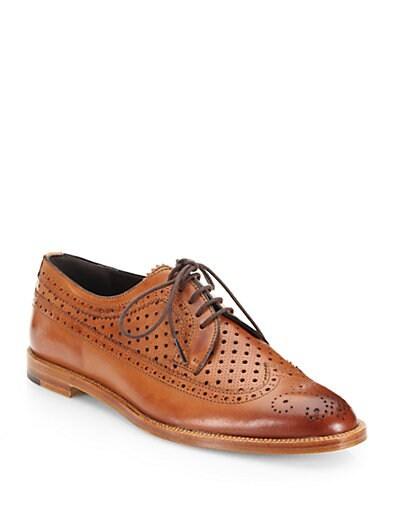 Loreznabuc Perforated Leather Oxfords