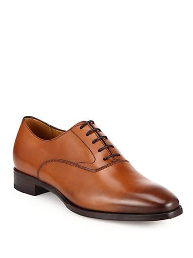 Galita Leather Lace-Up Oxfords
