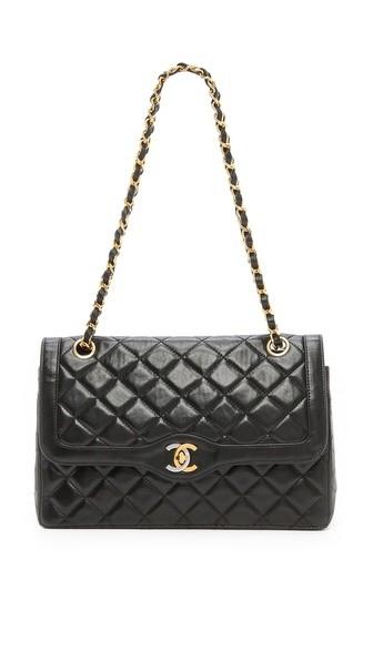 Vintage Chanel Paris Ltd Shoulder Bag