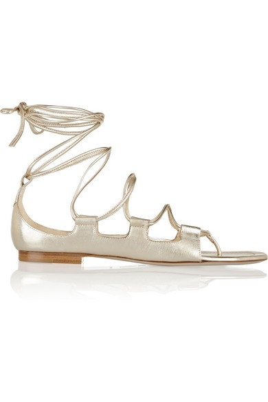 Chill Out metallic leather sandals