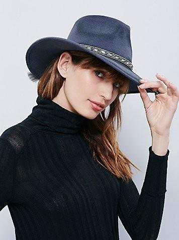 Roxy Dene Distressed Felt Hat