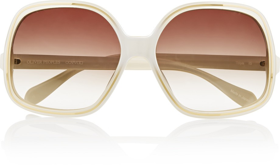 Talya square-frame acetate sunglasses