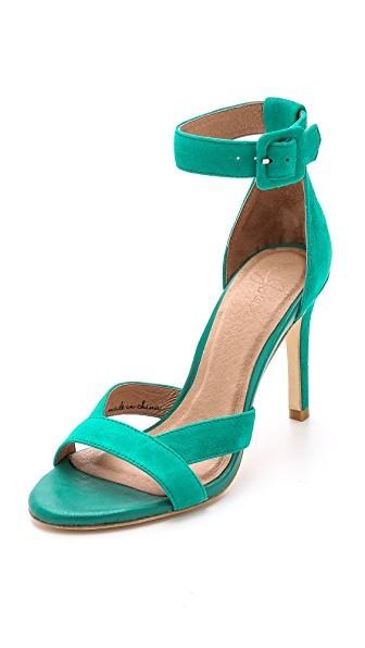Alvita Suede Sandals