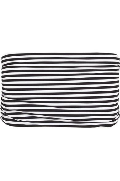 Striped bikini briefs