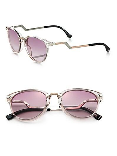 Zig-Zag Optyl Round Sunglasses