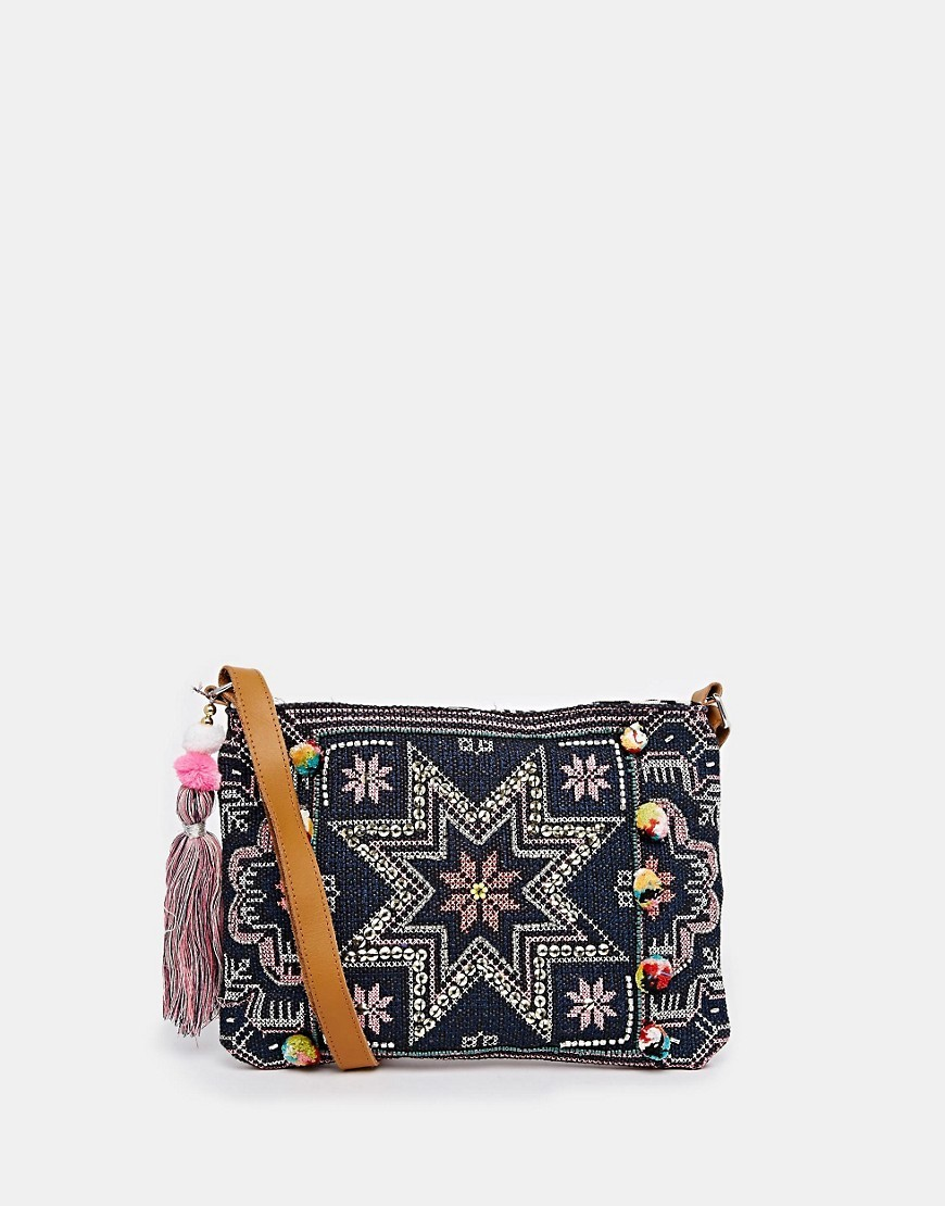 Warehouse Star EmbroIdered Clutch