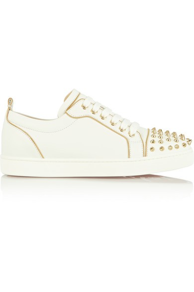 Rush 30 spiked leather sneakers