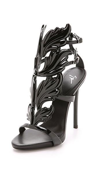 Metal Wing Sandals