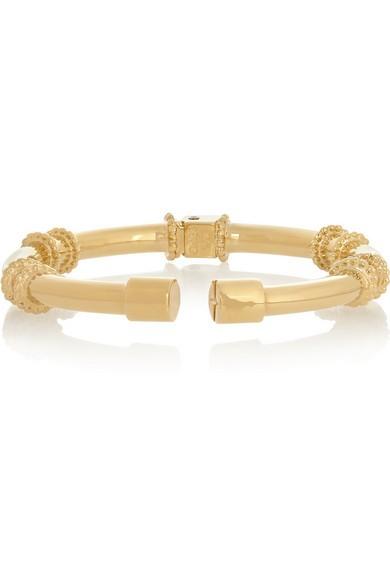 Frankie gold-tone arm cuff