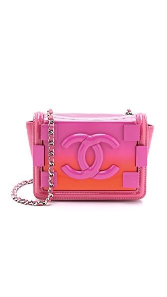 Chanel Ombre Logo Bag