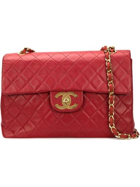 maxi quilted shoulder bag