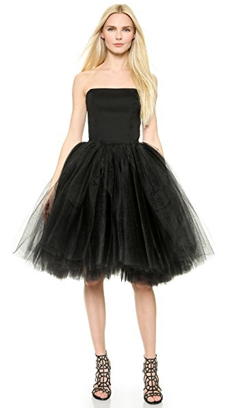Bustier Tulle Gown