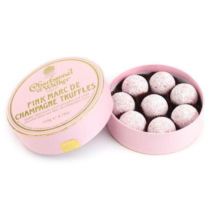 Charbonnel et Walker® Pink Marc de Champagne TrufflesProduct Q&A