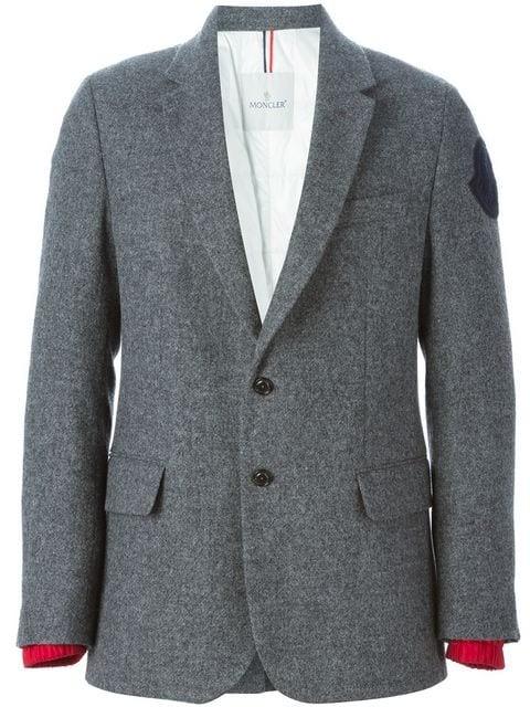 padded blazer