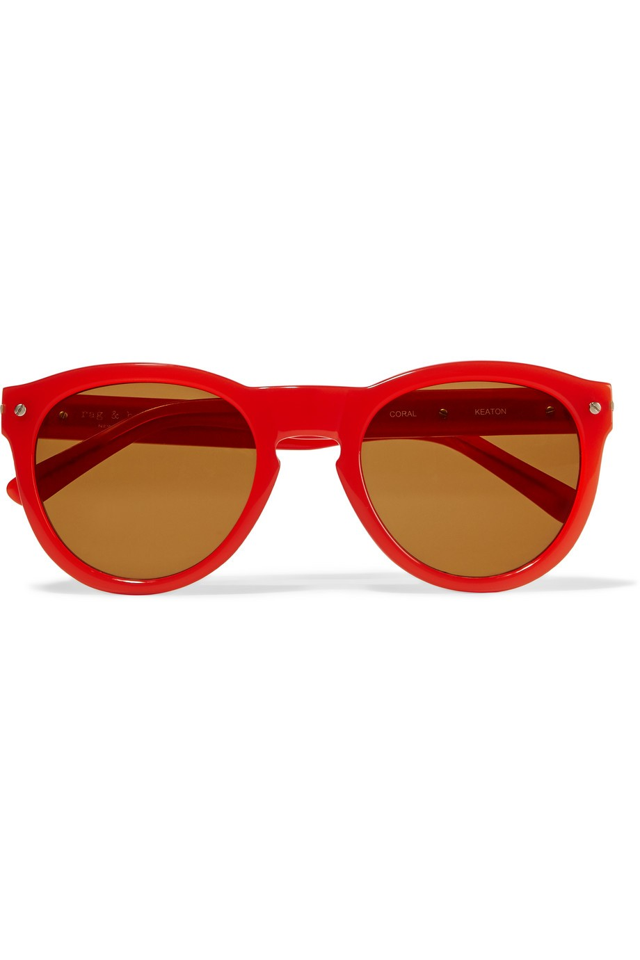 Keaton round-frame acetate sunglasses