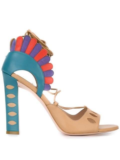 'Lotus' sandals