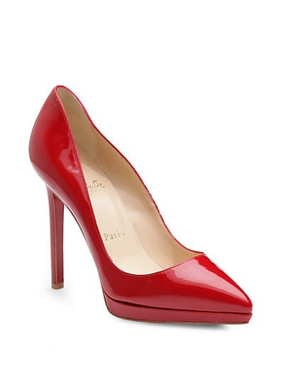 Pigalle Plato 120 Patent Leather Platform Pumps