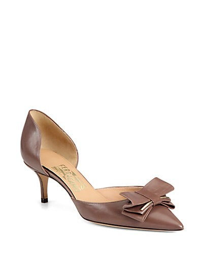 Rietta Leather d'Orsay Pumps