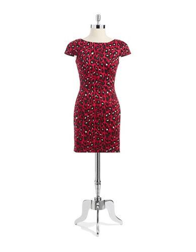 FRENCH CONNECTIONAnimal Print Shift Dress