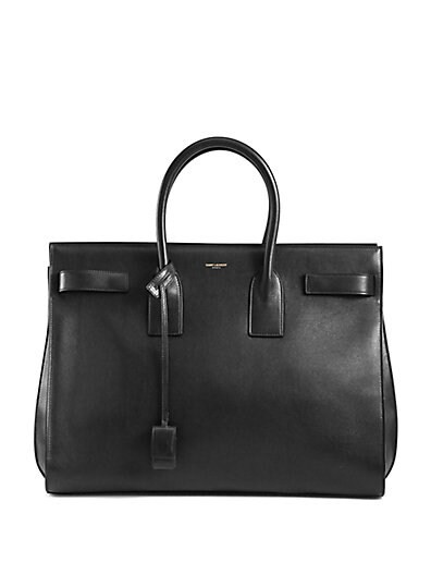 Saint Laurent Sac De Jour Top-Handle Bag
