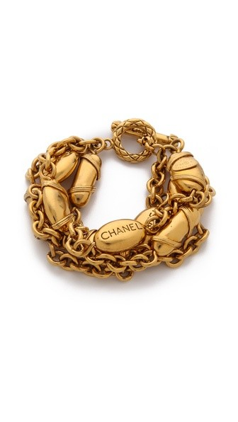Vintage Chanel Buoys Bracelet