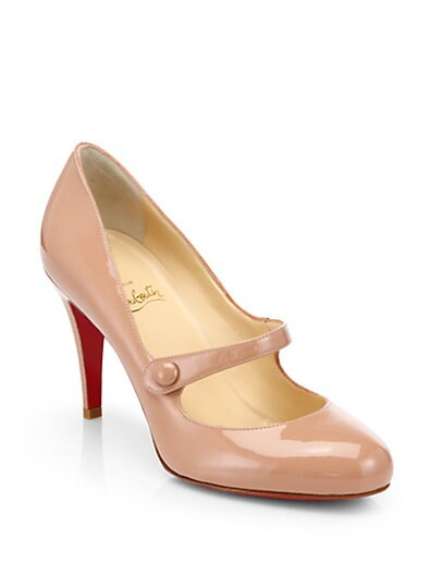 Charlene Patent Leather Mary Jane Pumps