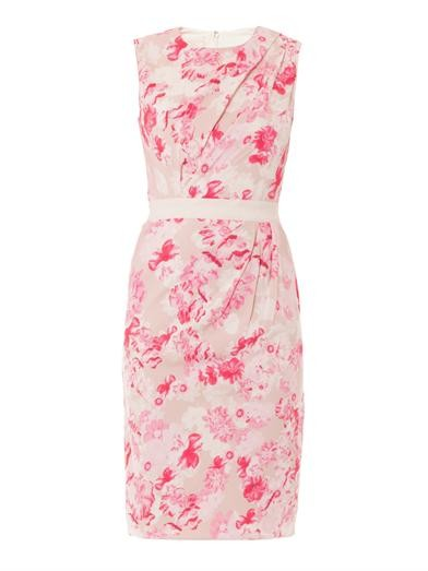 Floral-print sleeveless dress