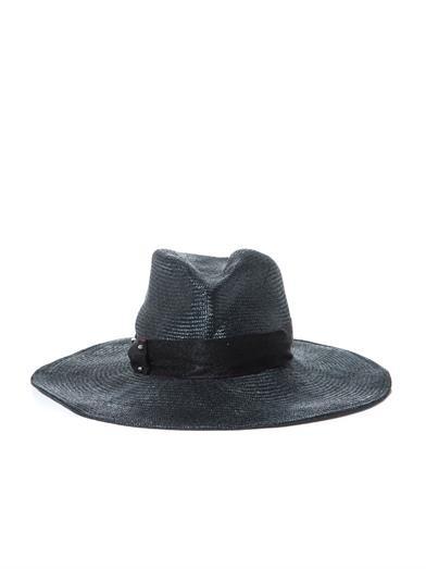 Emmanuelle wide-brimmed hat
