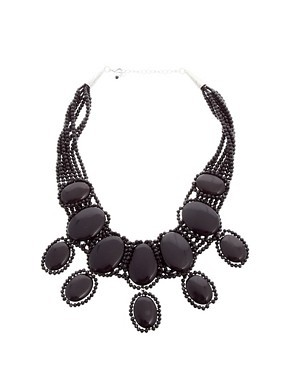 Coast Elizabeth Black Necklace