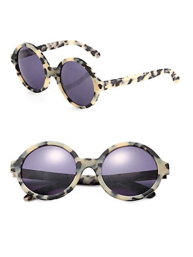 Sophia Oversized Round Sunglasses