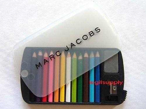 Marc Jacobs BookMarc Mini Pencil Eraser Sharpener Set