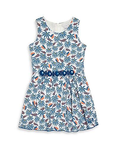 Toddler's, Little Girl's & Girl's Printed Dress