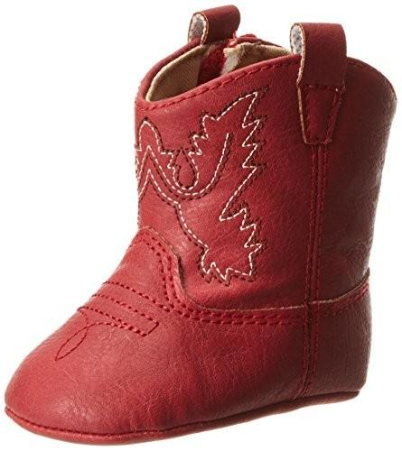 Baby Deer Western Boot (Infant),Red,3 M US Infant