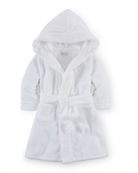 Cotton Terry Hooded Bathrobe
