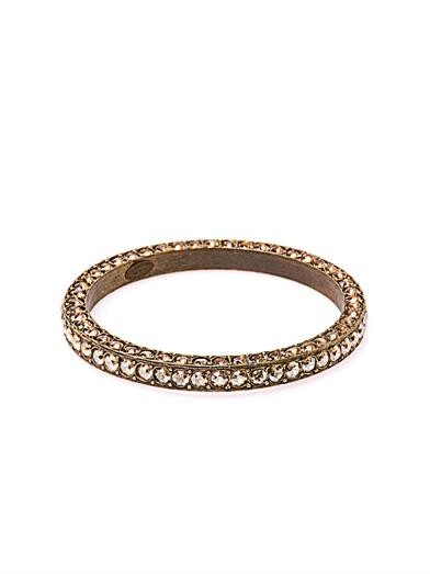 Babylon crystal-embellished bangle