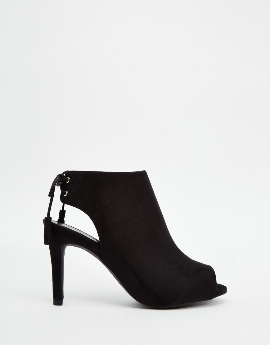 New Look Wide Fit Open Toe Shoe Boot