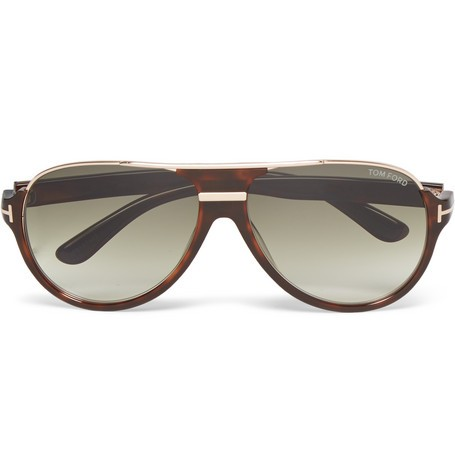 Dimitry D-Frame Tortoiseshell Acetate Sunglasses