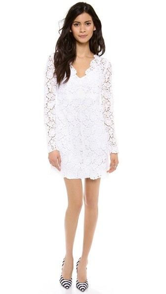 Hippolyte Crochet Dress