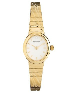 Sekonda Gold Bangle Watch