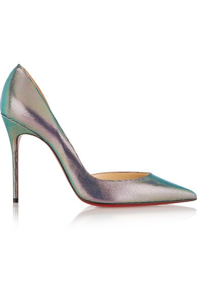 Iriza 100 metallic pumps