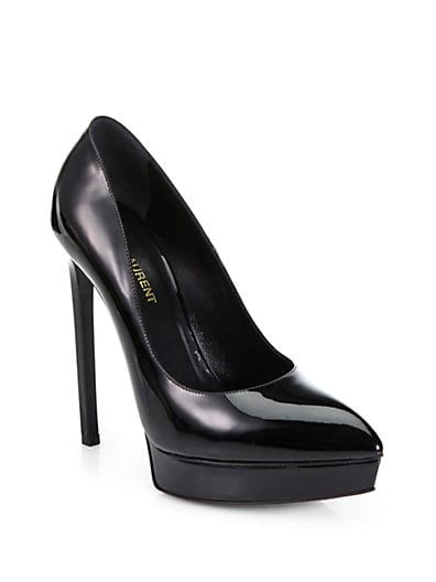 Janis Patent Leather Platform Pumps