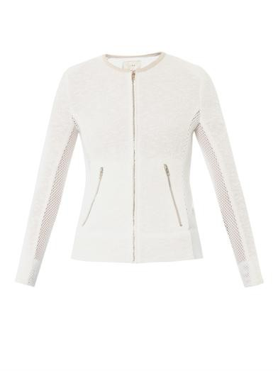 Amiya mesh-insert jacket