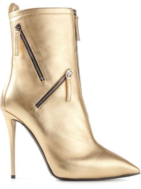 multi zip boots